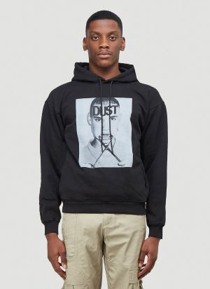 Dust One Hooded Sweater in Black