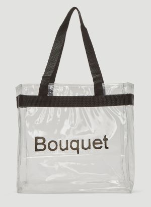 Kingsley Ifill Bouquet Tote Bag in Clear