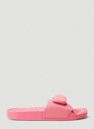 adidas by Pharrell Williams Boost Slides in Pink