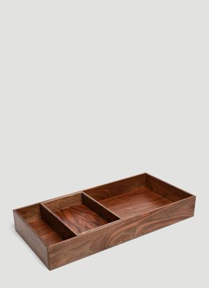 E15 CM07 Open Tray in Brown