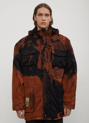Garbage TV Who-Made-Who Bleached Coat in Brown