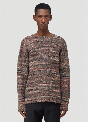 Our Legacy Popover Round Neck Sweater in Brown
