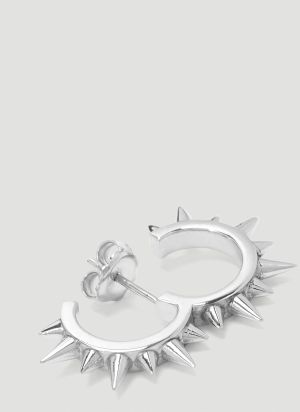 Alan Crocetti Rodeo Spur Earring in Silver