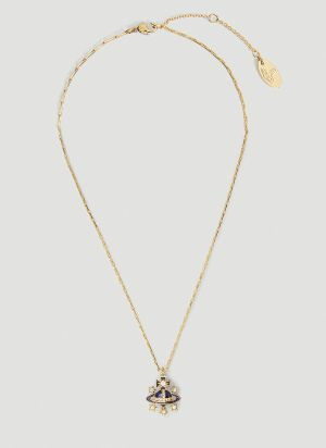 Vivienne Westwood Dalila Bas Relief Necklace in Gold