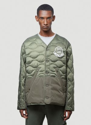 2 Moncler 1952 Iskar Down Jacket in Green