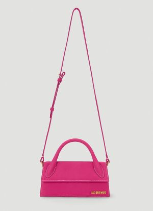 Jacquemus Le Chiquito Long Shoulder Bag in Pink