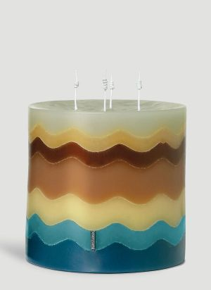 Missoni Home Torta Large Candle in Gold
