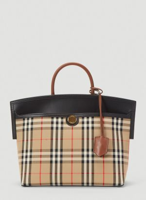 Burberry Society Tote Bag in Beige