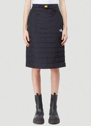 The North Face Black Series Quilted Skirt in Black