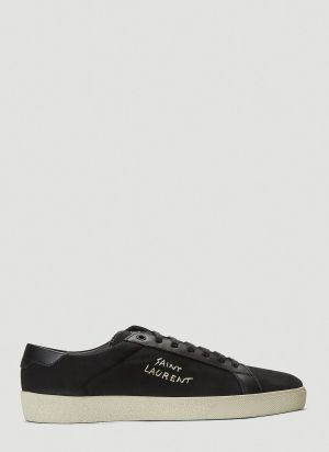 Saint Laurent Court Classic SL/06 Sneakers in Black