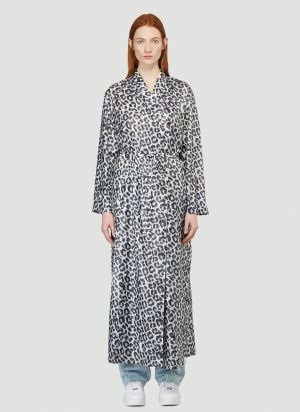 Flapper Cassandra Dressing Gown in Grey
