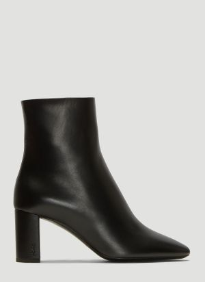 Saint Laurent Lou Ankle Boots in Black