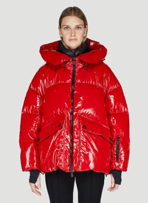 Moncler Grenoble Tillier Down Jacket in Red
