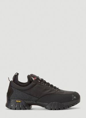 ROA Neal Lace Up Sneakers in Black