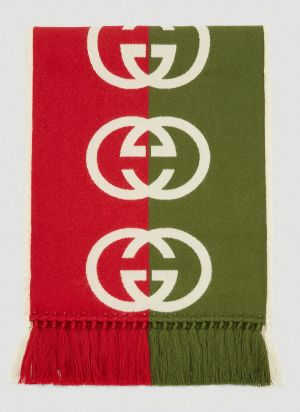 Gucci GG Scarf in Red