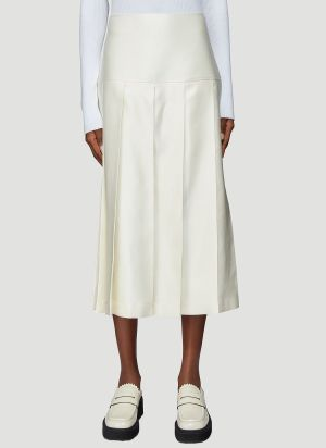 Jil Sander Luisa Skirt in White