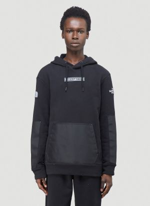 The North Face Black Series Contrast-Panel Hooded Sweatshirt in Black
