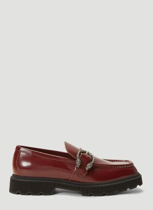 Gucci Mystras Loafers in Red