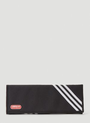 adidas by Lotta Volkova Trefoil Clutch Bag in Black
