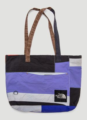 Greater Goods Upcycled Tote Bag in Blue