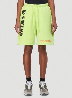 Willy Chavarria X K-Swiss Shorts in Yellow