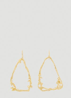 Vasiliki by Kiki XL Hoop Earrings in Gold