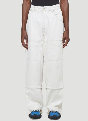 Eytys Titan Panelled Pants in White