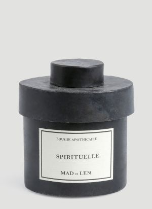 Mad & Len Large Spirituelle Candle in Black