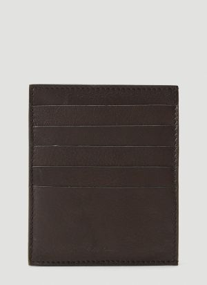 Rick Owens Square CC Card Holder in Black