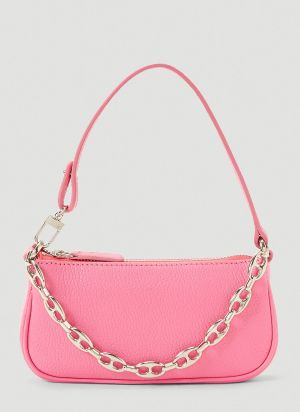 by Far Mini Rachel Shoulder Bag in Pink