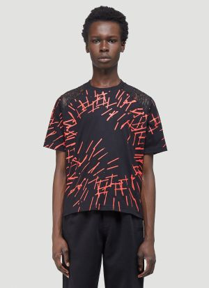 Youths In Balaclava Graphic T-Shirt in Black