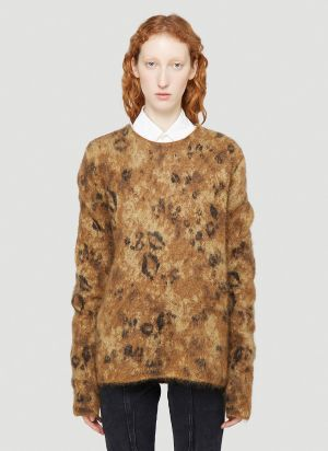 1017 ALYX 9SM Mohair Sweater in Brown