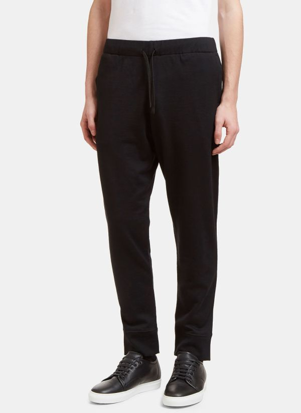 Aiezen Knitted Track Pants in Black