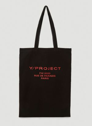 Y/Project Scarf Tote Bag in Black