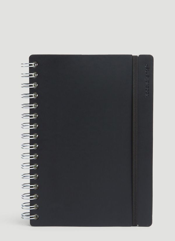 Vacavaliente A5 Ruled Notepad in Black
