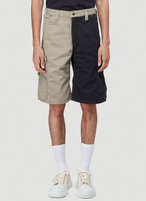 (D)ivision Reworked Carhartt Shorts In Beige