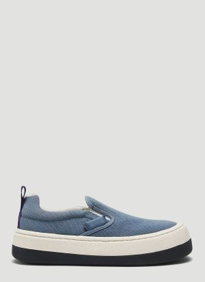 Eytys Venice Canvas Sneakers in Blue