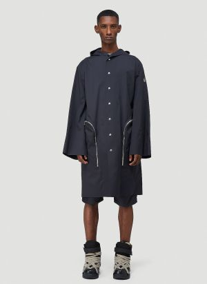 Moncler + Rick Owens Nesbitt Coat in Black