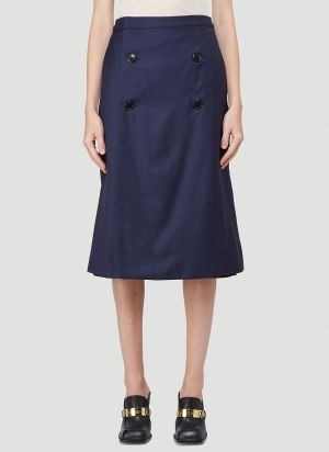 Vetements Transformer Skirt in Blue