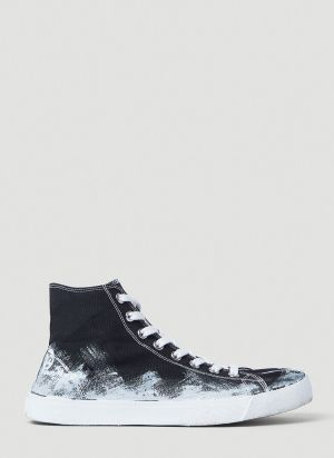 Maison Margiela Painted High-Top Sneakers