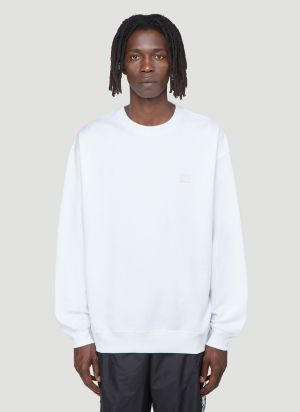 Acne Studios Face Sweatshirt in White