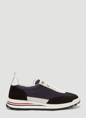 Thom Browne Tech Runner Sneakers in Blue