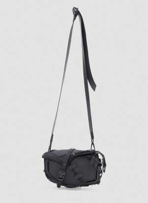 Innerraum Saddle Crossbody Bag in Black