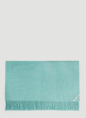 Acne Studios Canada New Scarf in Green