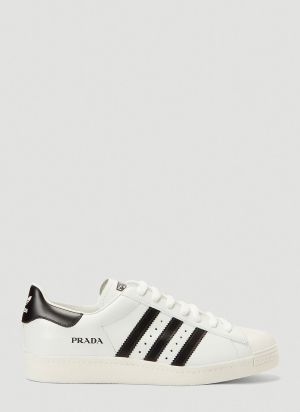 adidas x Prada Prada Superstar Sneakers in White