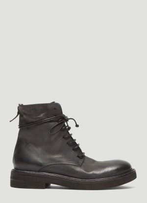 Marsèll Parrucca High Leather Boots in Black
