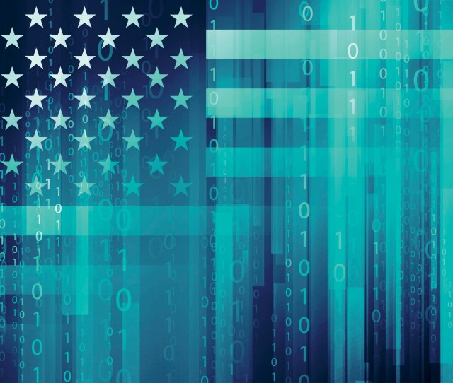 American Flag Cyber Security