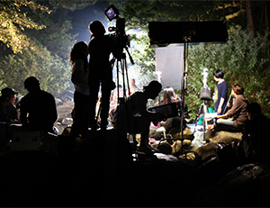 green filming