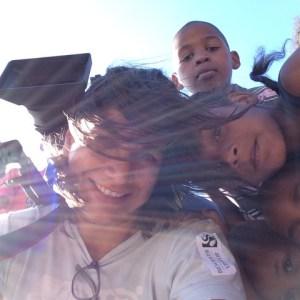 michelle-kids-selfie