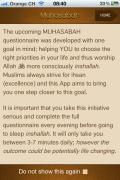 """Muhasabah"" iPhone App review"